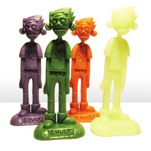 Zombie Chuck toys