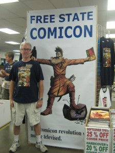 Craig Klotz at Free State Comicon 2011