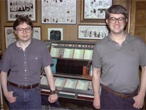 Terry Beatty and Max Allan Collins, circa 1980.