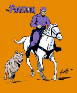 Cartoonist Terry Beatty's sample of The Phantom.